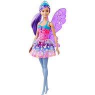 Barbie Magic Fee mit lila Haaren - Puppe