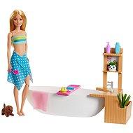 Barbie Wellness Sprudelbad Spielset mit Puppe
