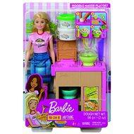 Barbie-Puppe und asiatisches Restaurant - Puppe