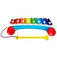Fisher-Price lustiges ziehendes Xylophon - Spielzeug für die Kleinsten