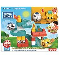 Fisher Price - Mega Bloks Peek A Blocks - Amusement Park / Freizeitpark