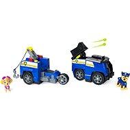 Paw Patrol Zwei Rettungsfahrzeuge in einer Verfolgungsjagd - Spielset