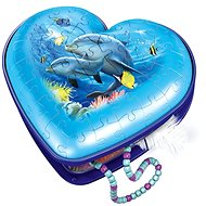 Ravensburger 111725 Herz Unterwasserwelt 54 Puzzleteile - Puzzle