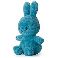 Miffy Sitting Terry Ozeanblau 23cm - Stoffspielzeug