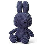 Miffy Sitting Cord Blau 50cm - Stoffspielzeug