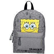SpongeBob Iconic Gray Backpack - Schulrucksack