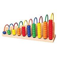 Holzspielzeug Holzzählung - Dřevěná hračka