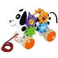 Holz-Nachziehspielzeug Hund - Nachziehspielzeug