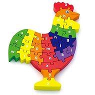 3D Puzzle - Hahn mit Buchstaben - 3D Puzzle