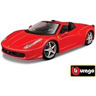 Bburago Modellauto Ferrari 458 Spider Red - Automodell