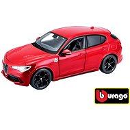 Bburago Modellauto Alfa Romeo Stelvio Red - Automodell