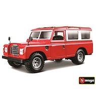 Bburago Modellauto Land Rover Red - Automodell