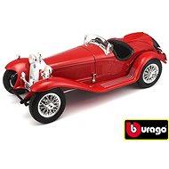 Bburago Modellauto Alfa Romeo 8C 2300 Spider Touring (1932) Red - Automodell