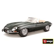 Bburago Modellauto Jaguar E Cabriolet (1961) Green - Automodell