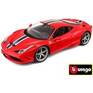 Bburago Modellauto Ferrari 458 Speciale Ferrari Race & Play Red - Automodell