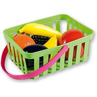 Androni Einkaufskorb mit Obst - 6 Stück, grün - Set