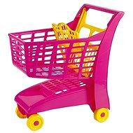 Androni Einkaufswagen mit Sitz - rosa - Kinderwagen