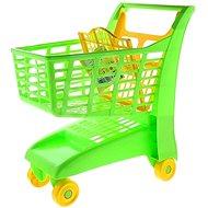 Androni Einkaufswagen mit Sitz - grün - Kinderwagen