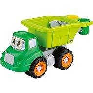 Androni Auto mit Mülleimern - 32 cm - Auto