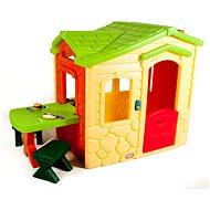 Little Tikes Cottage mit Picknicktisch - Natural - Kinderspielhaus