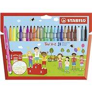 STABILO Trio AZ 24 Farben - Filzstifte