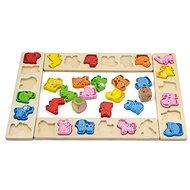 Holzspiel - Tierkarneval - Didaktisches Spielzeug