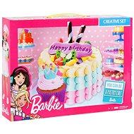 Barbie - Farbmodell - Geburtstagstorte - Knetmasse