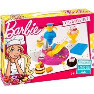 Barbie - Farbmodell - Kuchen mit Dekoration - Knetmasse