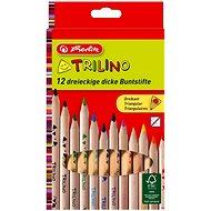 Herlitz Trilino 12 Farben dreieckig - Bundstifte