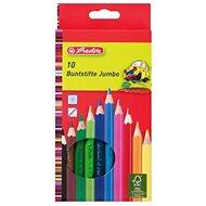 Herlitz Jumbo 10 Farben - Bundstifte
