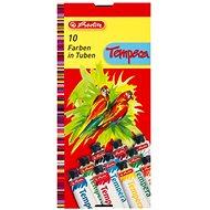 Herlitz 10 Farben - Tuben - Ölfarben