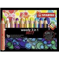 Stabilo Woody Arty 3in1 10 Farben - Bundstifte