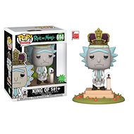 "Funko POP Animation: Rick & Morty S2 - King of $#!+ w/Sound 6"" - Figur"