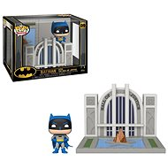 Funko POP DC Towns: Batman 80th - Hall of Justice w/Batman - Figur