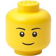 LEGO Aufbewahrungskopf (Mini) - Junge - Aufbewahrungsbox