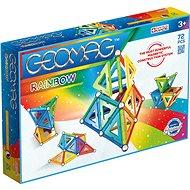 Geomag Rainbow 72 - Magnetischer Baukasten