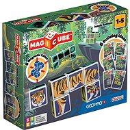 Magnetischer Baukasten Magicube Jungle Animals