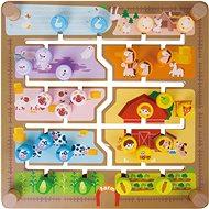 2in1 Labyrinth - Einfügen und Lernen - Interaktives Spielzeug