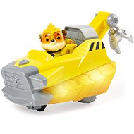 Paw Patrol Mighty Pups Rubbles Deluxe Vehicle - Spielset