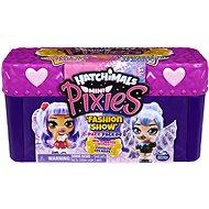 Hatchimals Mini Pixies Puppen 4 Stück im Koffer - Lila - Figuren