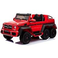 Mercedes-Benz G63 6X6, rot - Elektroauto für Kinder