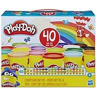 Play-Doh Set mit 40 Dosen - Knetmasse