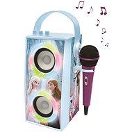Lexibook Frozen Tragbarer Bluetooth-Lautsprecher mit Mikrofon und Lichteffekten - Musikspielzeug