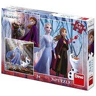 Frozen II 3X55 Puzzle Neu - Puzzle