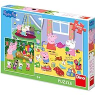 Peppa Pig On Vacation 3X55 Puzzle Neu - Puzzle