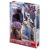 Frozen II 4X54 Puzzle Neu - Puzzle