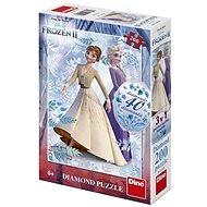 Frozen II 200 Diamond Puzzle Neu - Puzzle