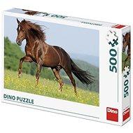 Pferd auf der Wiese 500 Puzzle - Puzzle