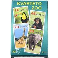 Quartett - Zoo - Kartenspiel