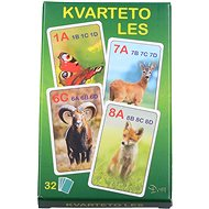 Quartett - Im Wald - Kartenspiel